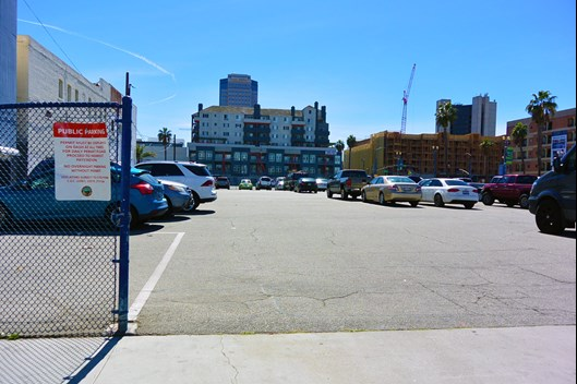 4th Amp Pacific Parking Lot Long Beach City Of Long